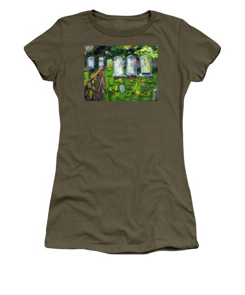 Waiting For You Women's T-Shirt (Athletic Fit)