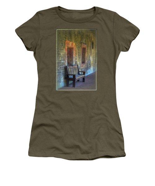 Waiting Women's T-Shirt (Junior Cut) by Joan Carroll