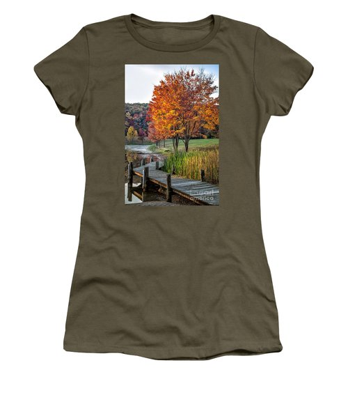 Walk Into Fall Women's T-Shirt