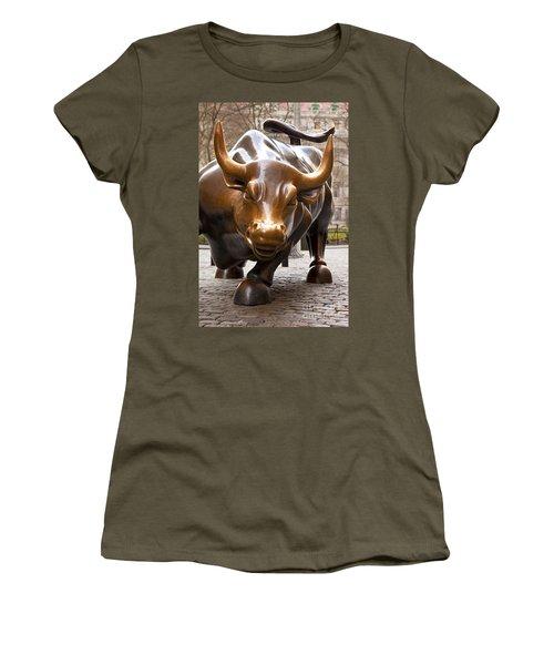Wall Street Bull Women's T-Shirt