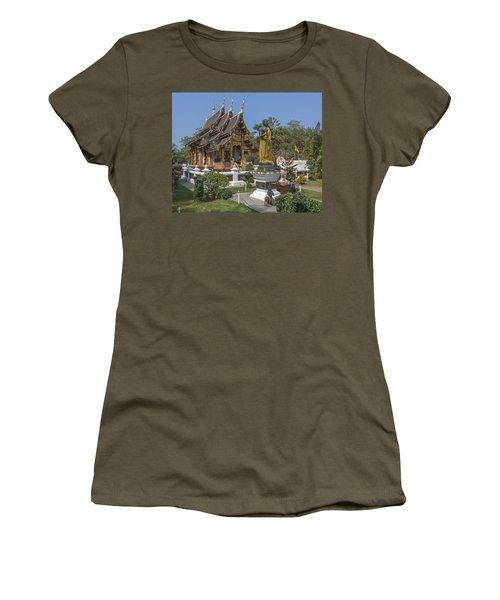 Wat Chedi Liem Phra Ubosot Dthcm0831 Women's T-Shirt