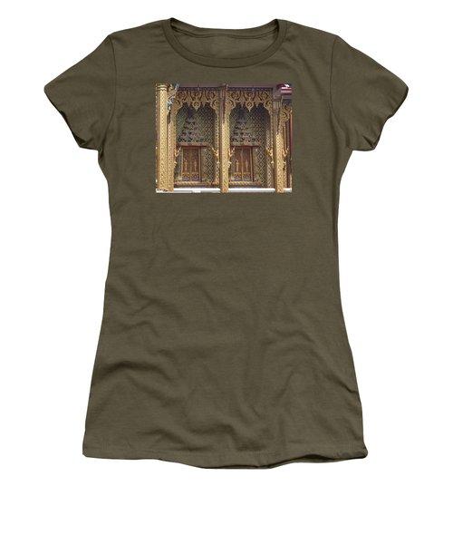 Wat Thung Setthi Ubosot Window Dthb1550 Women's T-Shirt