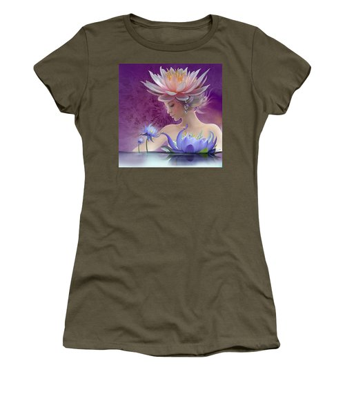 Water Of Life - In Violet Women's T-Shirt