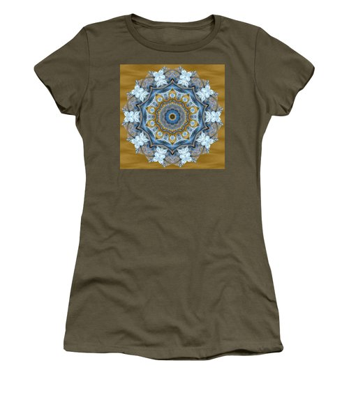 Water Patterns Kaleidoscope Women's T-Shirt