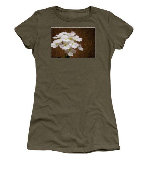 Watercolor Of Daisies Women's T-Shirt (Junior Cut)