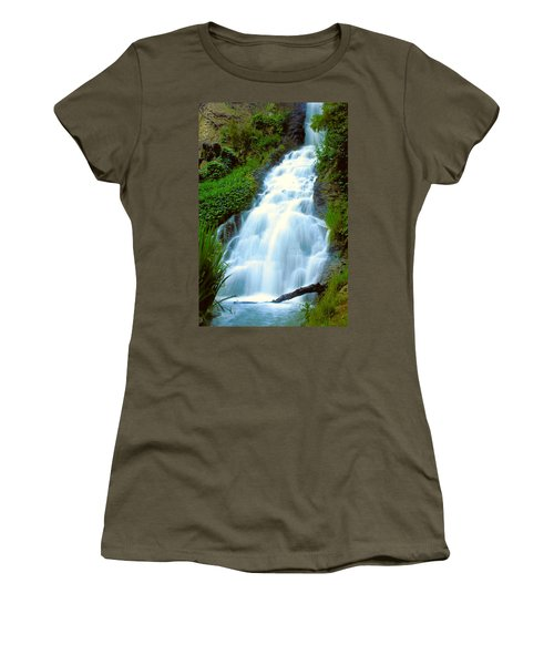 Waterfalls In Golden Gate Park Women's T-Shirt