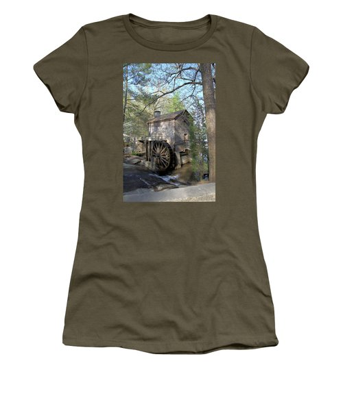 Waterwheel At Stone Mountain Women's T-Shirt