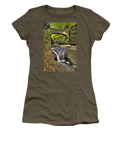 Watkins Glen Waterfalls Women's T-Shirt