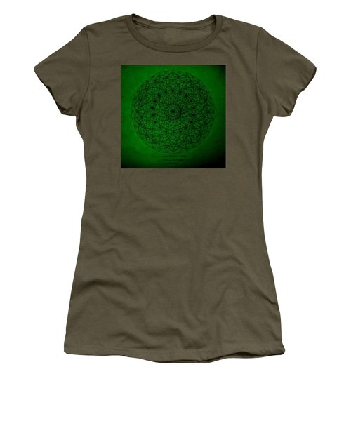 Wave Particle Duality II Women's T-Shirt (Junior Cut) by Jason Padgett