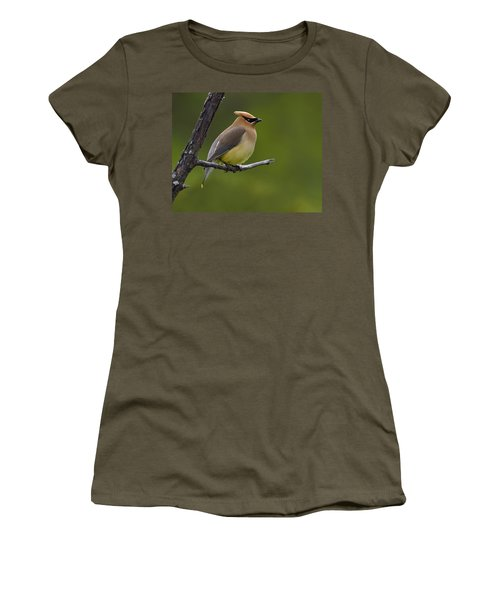 Wax On Women's T-Shirt (Junior Cut) by Tony Beck