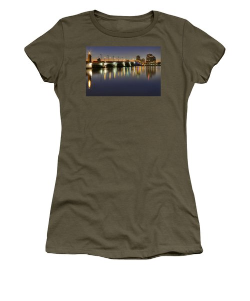 West Palm Beach At Night Women's T-Shirt