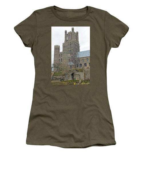 West Tower Of Ely Cathedral  Women's T-Shirt