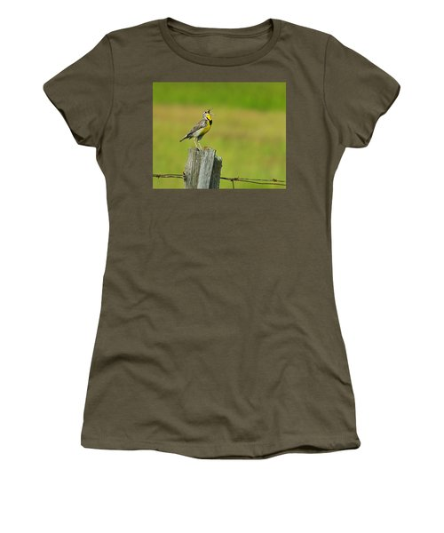 Western Meadowlark Women's T-Shirt