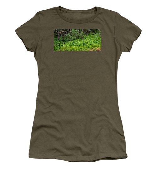 Western Skunk Cabbages Lysichiton Women's T-Shirt
