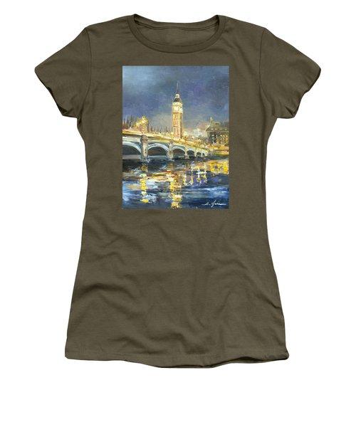 Westminster Bridge Women's T-Shirt (Athletic Fit)