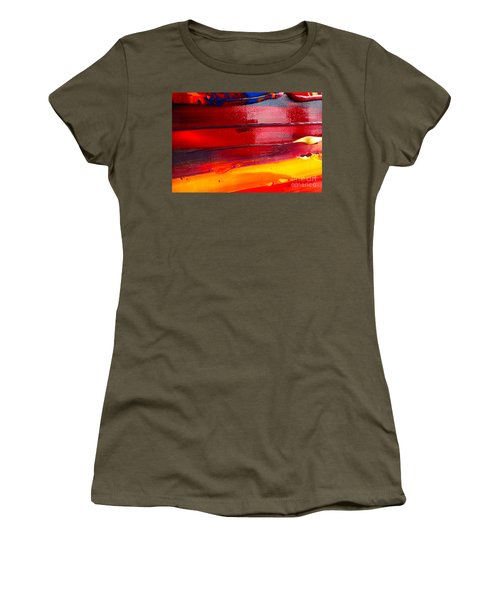 Wet Paint 123 Women's T-Shirt