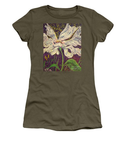 White Flower Series 6 Women's T-Shirt