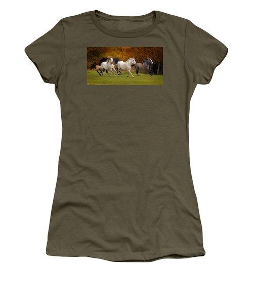 White Horse Vale Lipizzans Women's T-Shirt