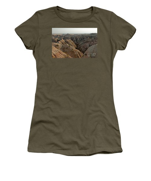 White River Valley Overlook Badlands National Park Women's T-Shirt
