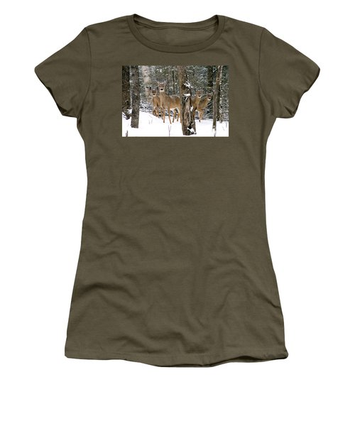 Whitetail Deer Odocoileus Virginianus Women's T-Shirt