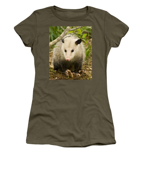 Who Says Possums Are Ugly Women's T-Shirt (Athletic Fit)