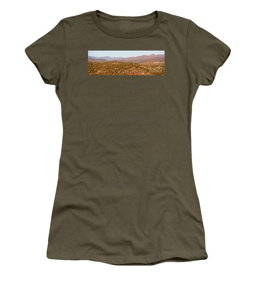 Wickenburg Mountains Women's T-Shirt (Athletic Fit)