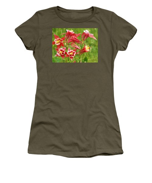 Wild Columbine 2 Women's T-Shirt (Athletic Fit)