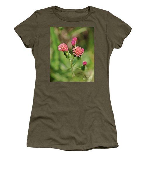 Women's T-Shirt (Junior Cut) featuring the photograph Wild Flower by Olga Hamilton