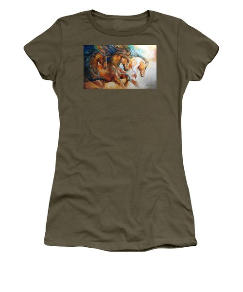 Wild Trio Run Women's T-Shirt