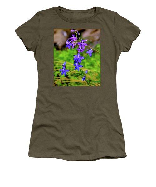 Wildflower Larkspur Women's T-Shirt