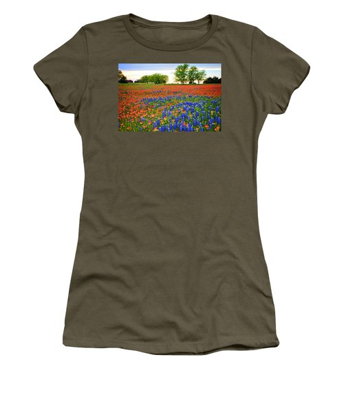 Wildflower Tapestry Women's T-Shirt