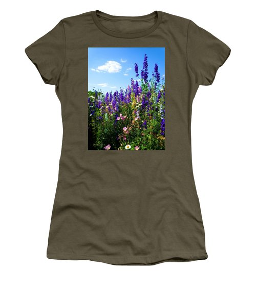 Wildflowers #9 Women's T-Shirt (Athletic Fit)