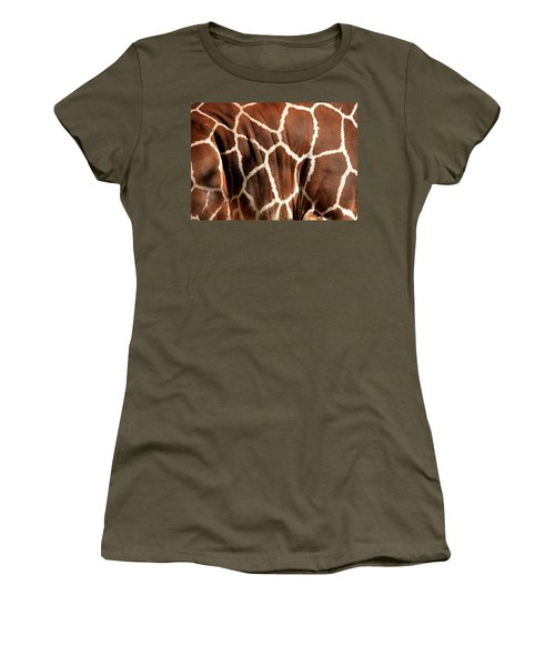 Wildlife Patterns  Women's T-Shirt (Junior Cut) by Aidan Moran