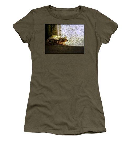 Windowsill Visitor Women's T-Shirt