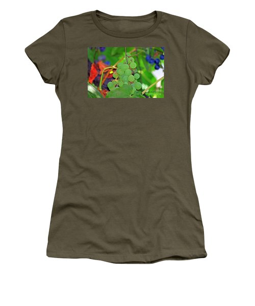 Wine Beginnings Women's T-Shirt (Junior Cut)