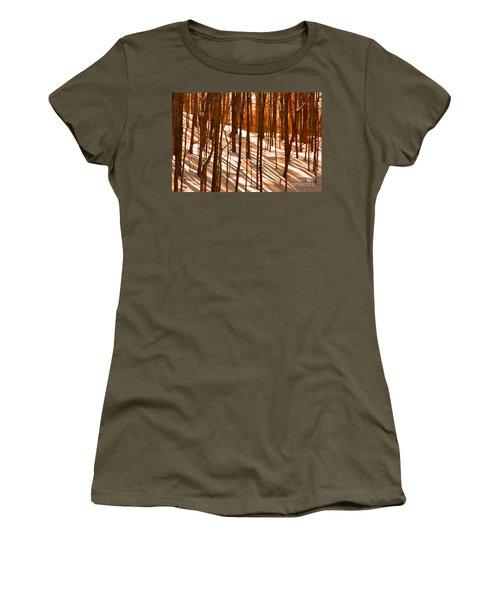 Winter Shadows Women's T-Shirt