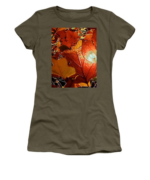 winters autumn in Pasadena Women's T-Shirt