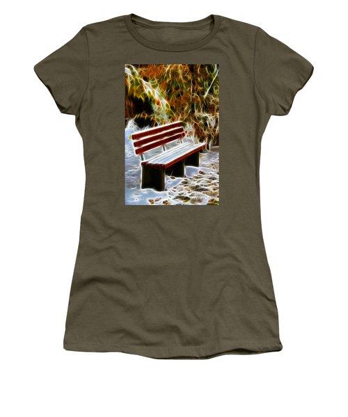 Winters Dream Women's T-Shirt (Junior Cut) by Mariola Bitner