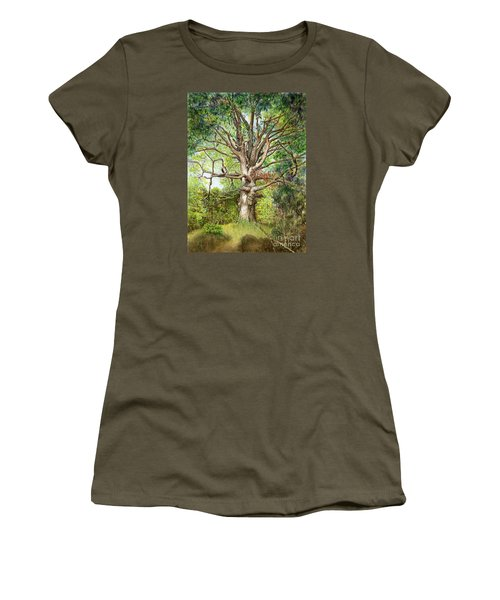 Wisdom Women's T-Shirt (Junior Cut) by Nancy Cupp