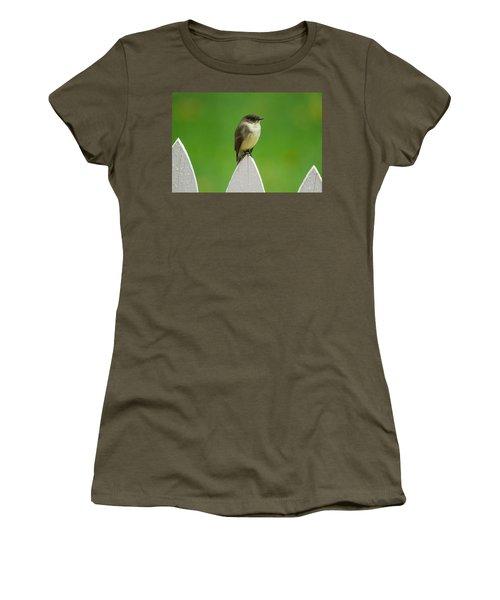 Women's T-Shirt featuring the photograph Wish I Was The Twitter Bird by Robert L Jackson