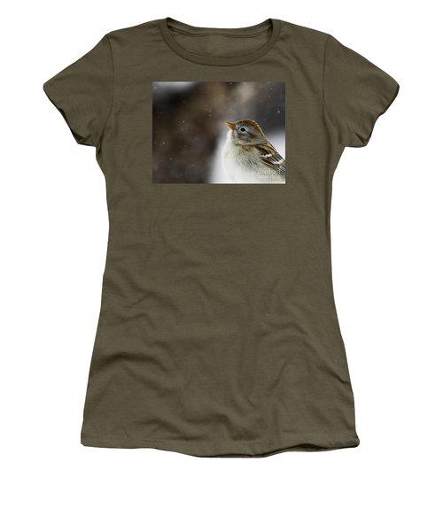 Wishing Upon A Snowflake  Women's T-Shirt