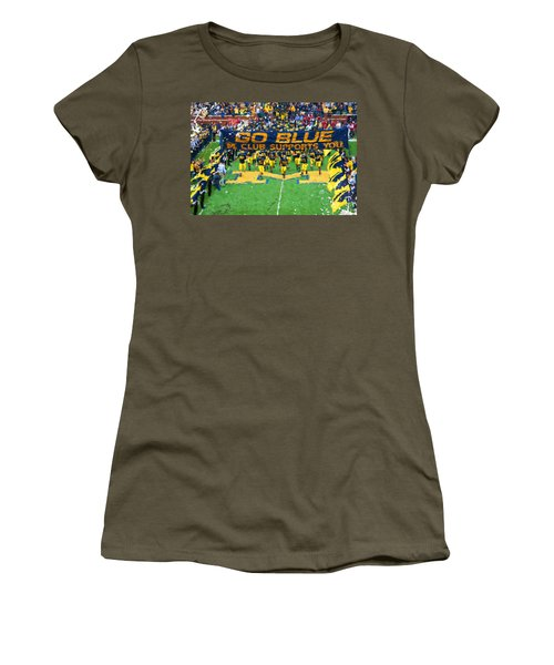 Wolverines Rebirth Women's T-Shirt (Athletic Fit)