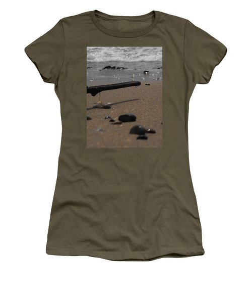 Wonder On This Beach Women's T-Shirt (Athletic Fit)