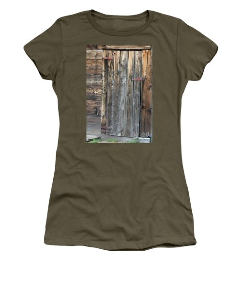 Wood Shed Door Women's T-Shirt