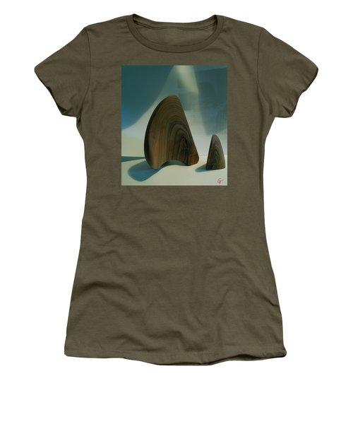 Wood Zen Harmony Women's T-Shirt
