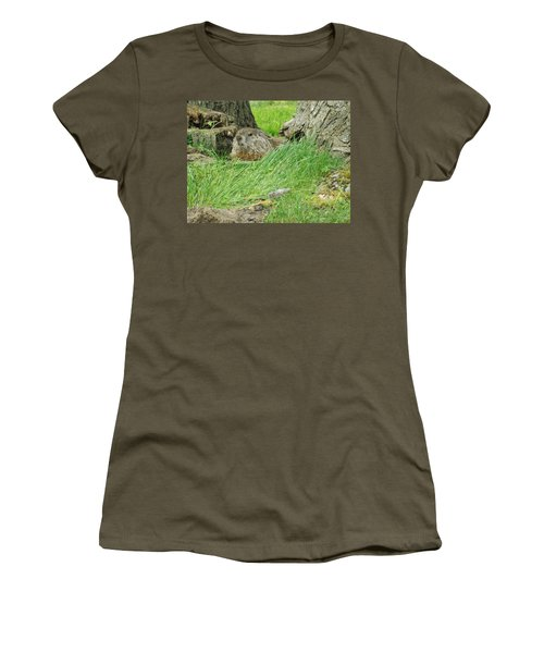 Woodchuck 2 Women's T-Shirt (Athletic Fit)