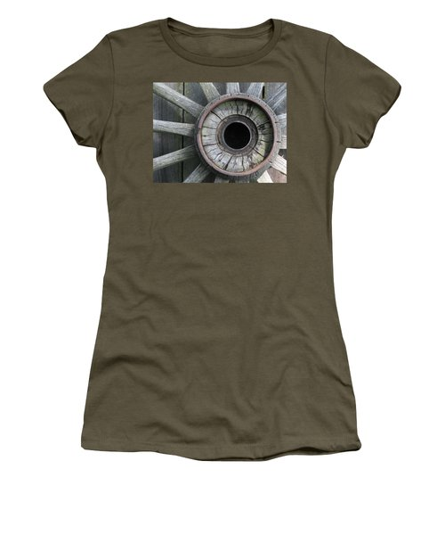 Wooden Wheel Women's T-Shirt