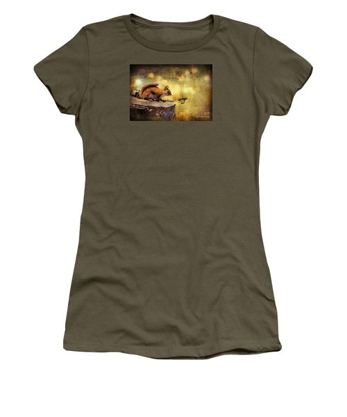 Woodland Wonder Women's T-Shirt (Athletic Fit)