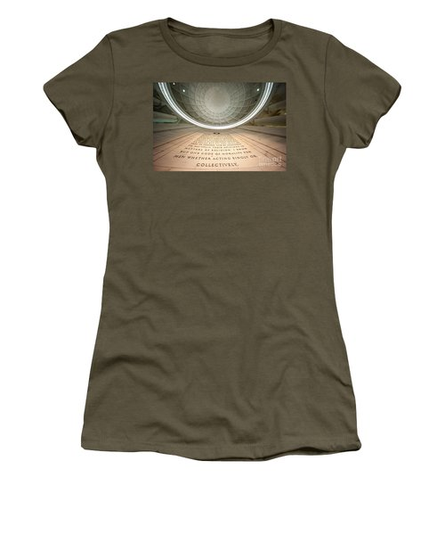 Written In Stone Women's T-Shirt