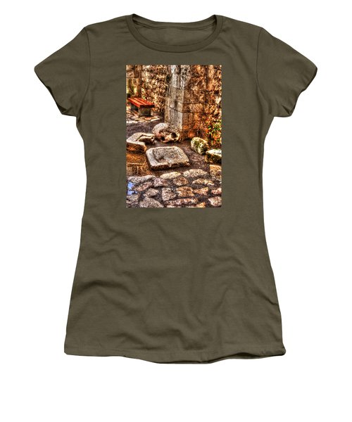 Women's T-Shirt (Junior Cut) featuring the photograph Stones That Don't Lie - Israel by Doc Braham